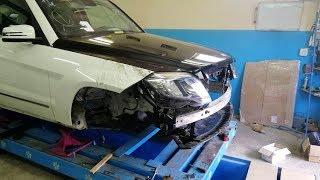 Mercedes-Benz GLK.  Наборка. Сборка.