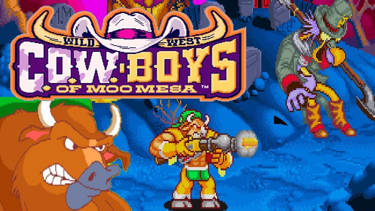 1992 Wild West C O W Boys Of Moo Mesa Arcade Game Playthrough Video Game Youtube