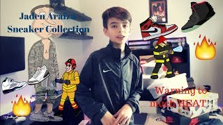 MY SNEAKER COLLECTION! Jaden Araiza (Deleted Video)