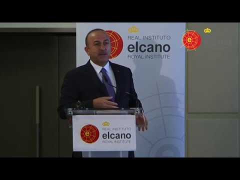 Public Conference of Mevlüt Çavuşoğlu, Minister of Foreign Affairs of Turkey @rielcano