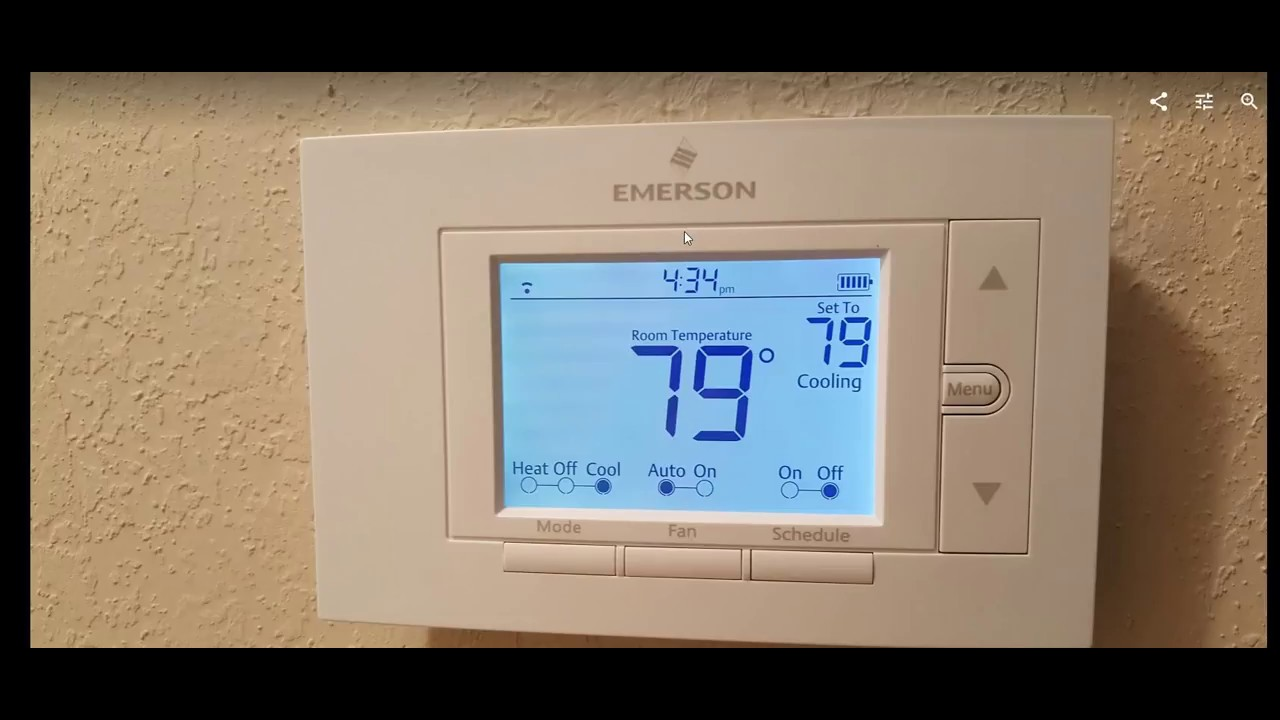 How to Access With An Existing Emerson Sensi Thermostat To A New Router or  Access Point
