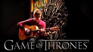 Game of Thrones Main Theme - Solo Acoustic Guitar - Eddie van der Meer