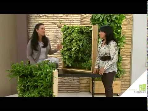 Sustratos para jard n vertical youtube for Como hacer un jardin vertical de interior
