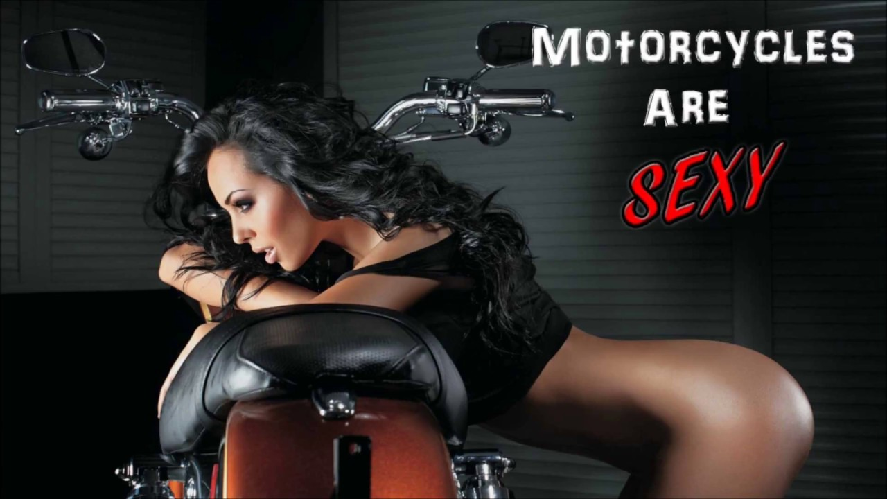 Sexy women on motorcycles