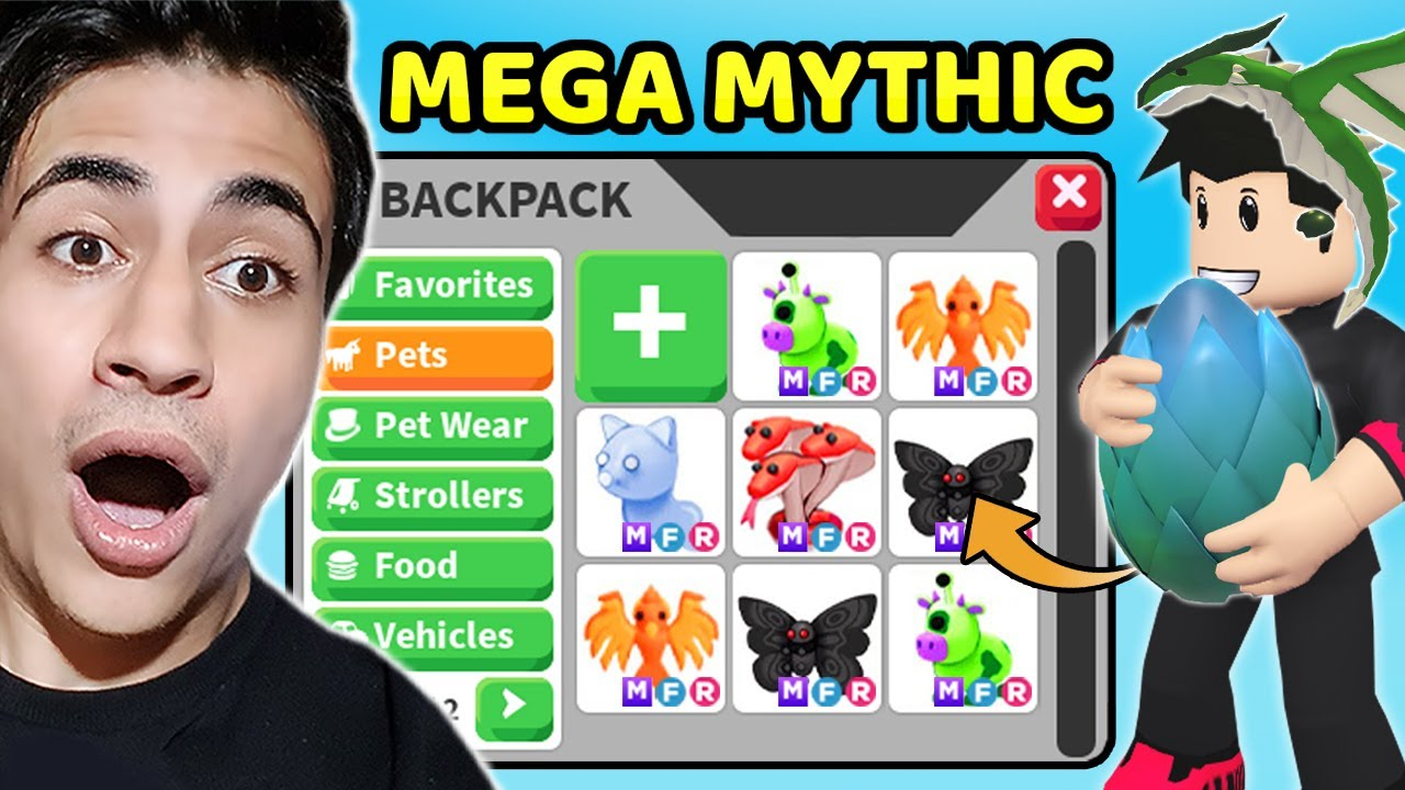 MEGA NEON MYTHİC DRAGON PET !! Mythical Egg Update 2021 ( Roblox Adopt Me )