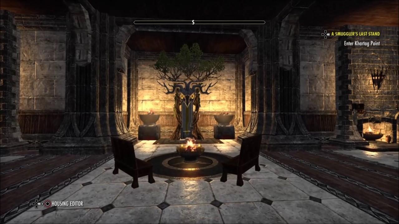 Mathiisen Manor Decorated House Tour Eso Ps4 Youtube