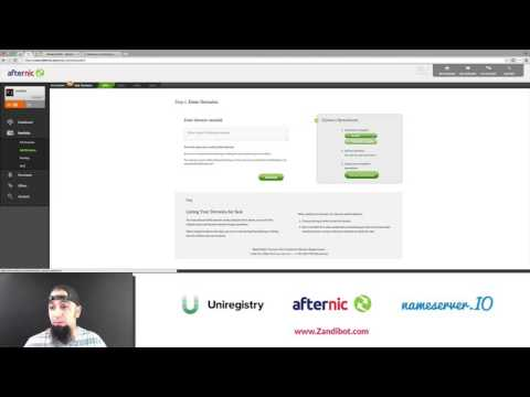 Bulk Forwarding Your Domains to Afternic Buy It Now Pages