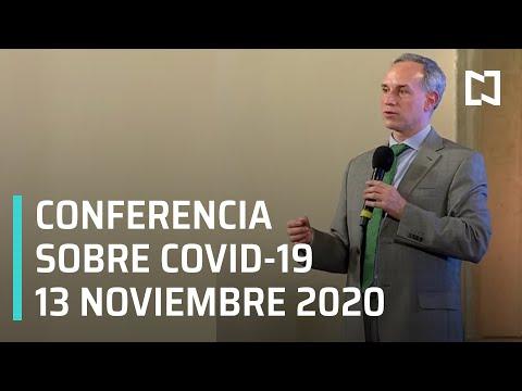 Conferencia Covid-19 en México - 13 noviembre 2020