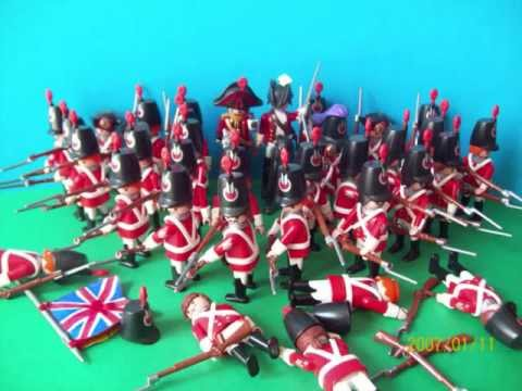 Playmobil soldats du 1er empire youtube - Playmobil soldat ...
