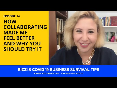 EP 14 - WHY COLLABORATING WILL MAKE YOU FEEL BETTER