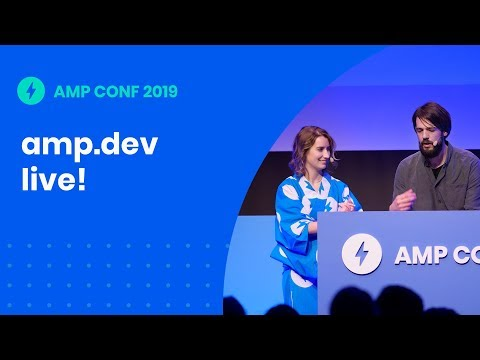 amp.dev live! (AMP Conf '19)