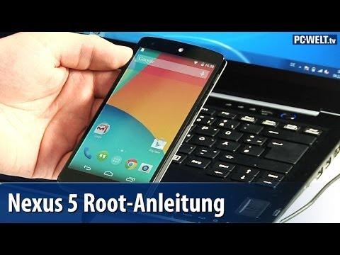 Google Nexus 5 rooten - so geht's | deutsch / german