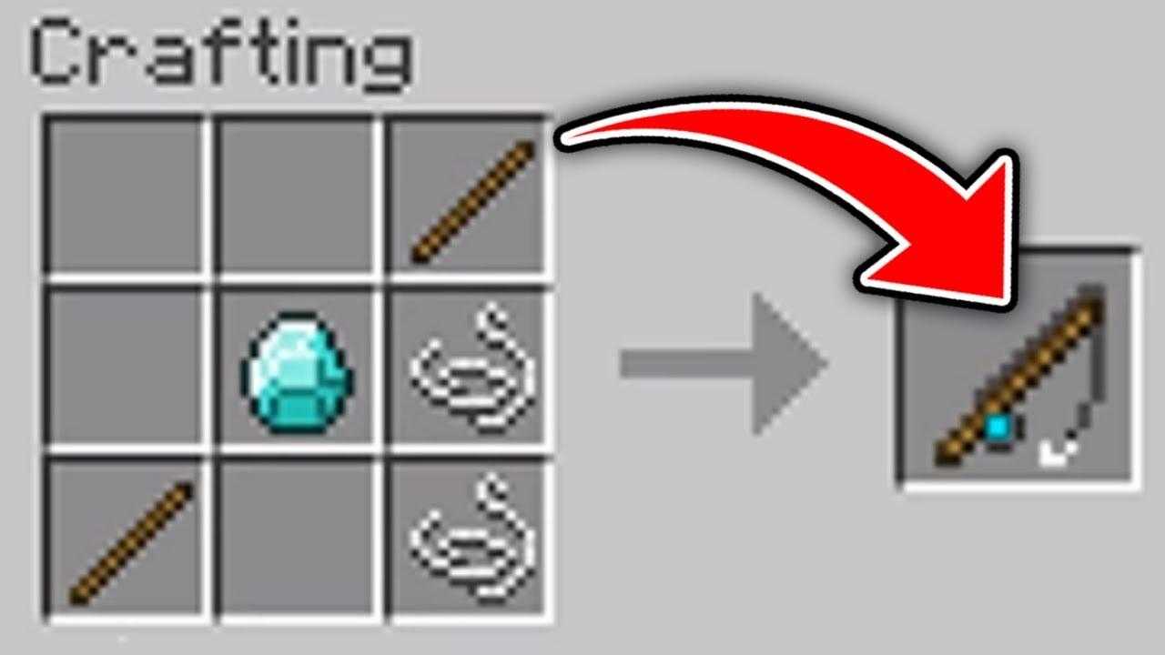minecraft secret recipes