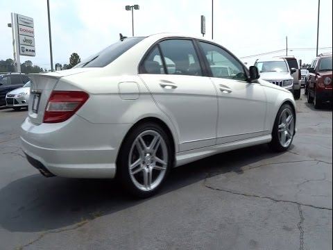 2008 mercedes benz c class johns creek buford athens for Mercedes benz of athens ga