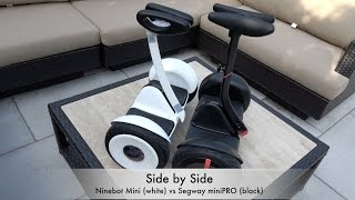 Video Ninebot Mini Details - Compared with Segway miniPRO - Demo and more! (4K) download MP3, 3GP, MP4, WEBM, AVI, FLV Agustus 2018