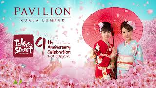 Pavilion KL Celebrates Tokyo Street's 9th Anniversary