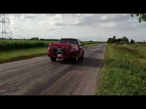 Ford f150 svt lightning OBX longtube headers flowmaster catback