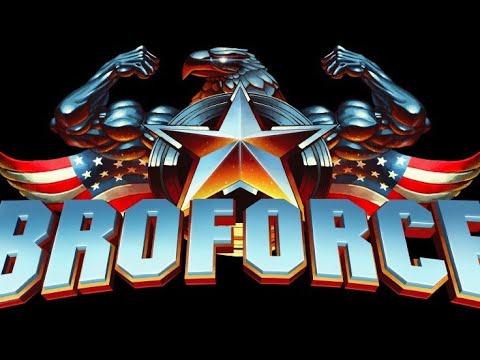 Broforce Gameplay: With Clinton Wratten We Are In Hell!!!