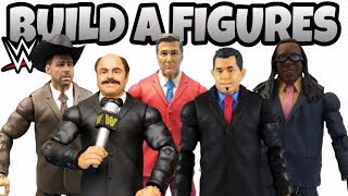 BUILD A FIGURE - WWE Action Figures From Mattel