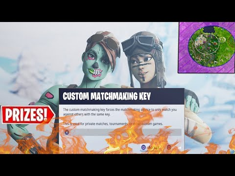 (NA EAST) CUSTOM MATCHMAKING DUO SCRIMS LIVE l FORTNITE BATTLE ROYALE l WIN=SHOUTOUT (END GAME) thumbnail