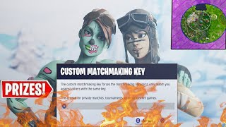 (NA EAST) CUSTOM MATCHMAKING DUO SCRIMS LIVE l FORTNITE BATTLE ROYALE l WIN=SHOUTOUT (END GAME)