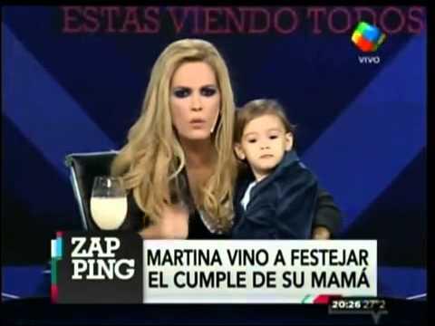 Viviana Canosa festejó su cumpleaños con su hija Martina