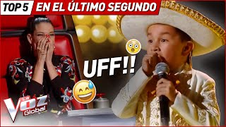 Download Los coaches se GIRARON en el ÚLTIMO SEGUNDO en La Voz Kids Mp3 and Videos