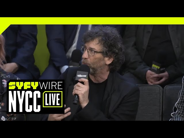 Good Omens Cast On Franchises And Fandom | NYCC 2018 | SYFY WIRE