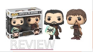 FUNKO POP: JON & RAMSAY 2 PACK FROM GAME OF THRONES REVIEW