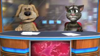 Talking Tom & Ben News the motto clean(part1)