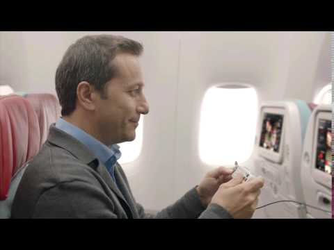Turkish Airlines - Economy Class In Flight Entertainment