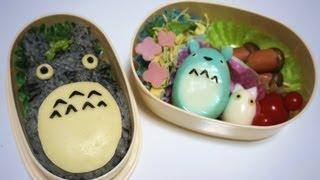 Totoro Bento Box Tutorial トトロキャラ弁のつくりかた