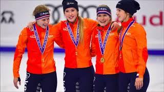 Nederlandse Vrouwen Pakken Goud Op Relay Bij Wereldbeker Shorttrack