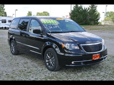 2015 chrysler town country s for sale dayton troy piqua sidney ohio 27111t youtube. Black Bedroom Furniture Sets. Home Design Ideas