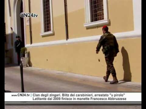 "CN24 | Clan degli zingari. Blitz dei carabinieri, arrestato ""u pirolo"""
