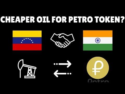 Venezuela giving India Oil discount for Petro (PTR)? Crypto incentives as marketing