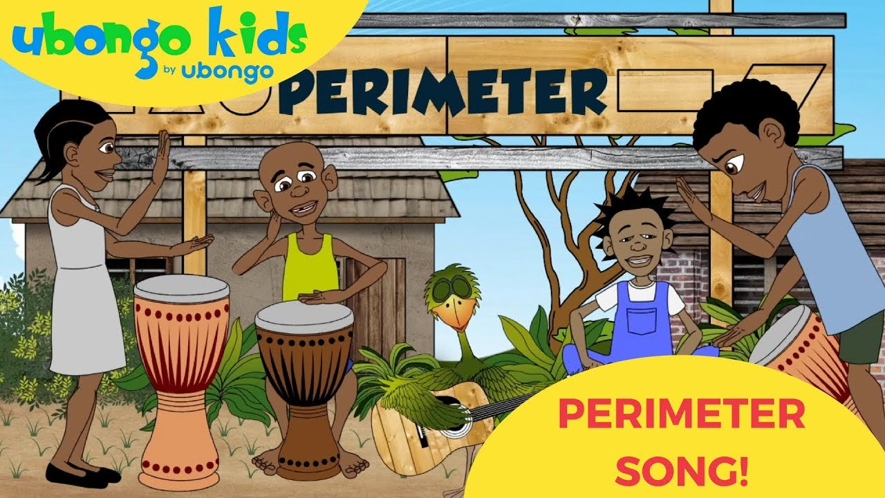 The Perimeter Song | Ubongo Kids Music | African Educational Cartoons