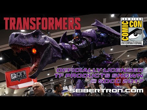 Officially LIcensed Transformers products shown at SDCC 2017