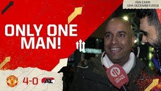 GREENWOOD IS PROLIFIC! Man Utd 4-0 AZ Alkmaar Fan Cam