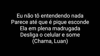 Nego Do Borel - Contatinho (Letra) Part. Luan Santana