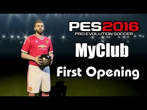 PES 2016 MyClub First Pack Opening Gameplay