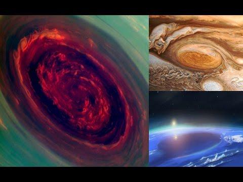 Top 5 Tormentas Aterradoras Del Sistema Solar (Top 5 Hurricane Colossal Solar System)
