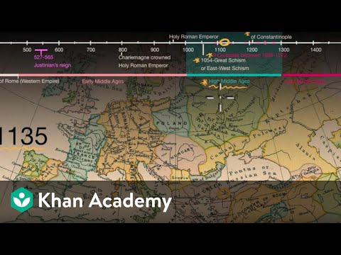 Overview of the Middle Ages | World History | Khan Academy
