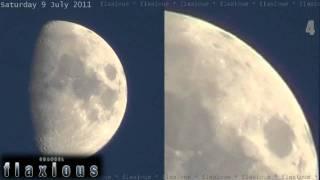 Geht irgendetwas auf dem Mond vor sich?