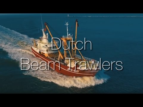 Dutch trawlers been at sea, now returning Home