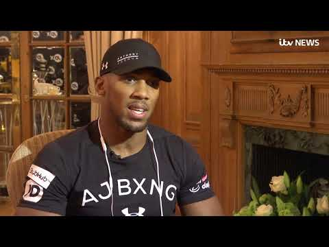 Anthony Joshua: I'm 100% considering a politics career after boxing | ITV News