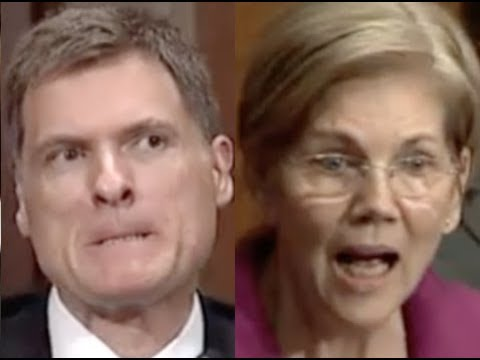 "Thumbnail: ""THIS IS REALLY FRUSTRATING!!!"" Elizabeth Warren GETS PISSED OFF & DESTROYS Trump Education Nominee"