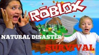 ROBLOX Natural DISASTER Supervivencia! ¡Juegos ROBLOX! Juegos Crazy! Las Hermanas TOYTASTIC.