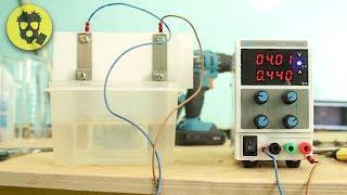 🔥 Получение водорода. Какой электролит лучше? Тест и сравнение разных растворов.