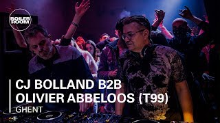 CJ Bolland b2b Olivier Abbeloos T99 The Sound of Belgium Boiler Room DJ Set